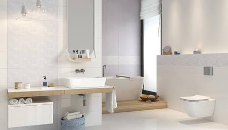 Плитка Opoczno / Glamour White Inserto Geo  24x74, фото 2