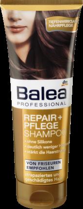 BALEA Professional Repair+ Pflege Schampoo ― Шампунь для восстановления поврежденных волос 250 мл