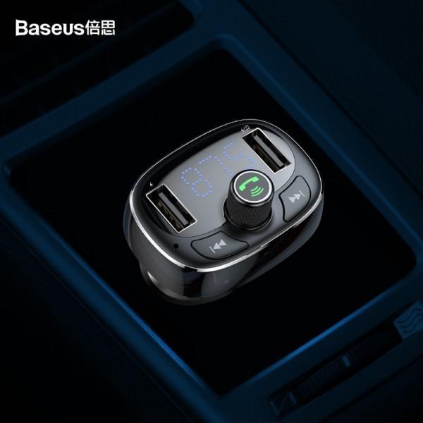 Автомобильный FM модулятор-трансмиттер Baseus CCALL-TM.