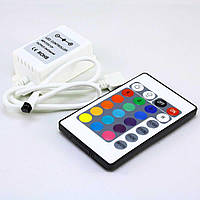 Контролер RGB 6А-IR-24 кнопки OEM
