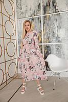 Женское летнее  платье с длинным рукавом.Новинка 2020, фото 1