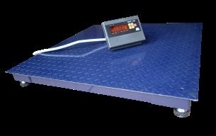 Платформенные весы ЗЕВС ВПЕ Премиум 1200х1200 (300кг), фото 2