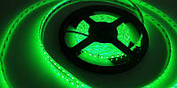 Светодиодная лента 12V smd2835 ІР65 зеленая 120led герметичная, фото 1