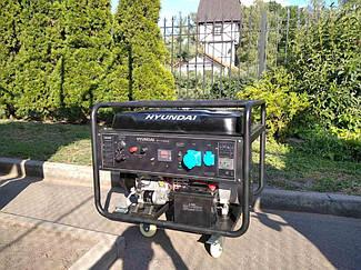 Генератор бензиновый 9,5 кВт Hyndai HY12500LE 2