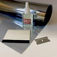 Сонцезахисна плівка Armolan Silver 15% (150х80см-2шт) + інструмент для тонування вікон. Ціна за комплект., фото 1