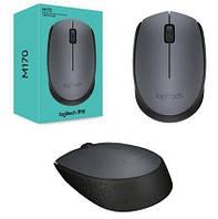 Мышь Logitech M170, Black/Grey, wireless