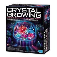 Детский набор для химических опытов 4M Выращивание цветных кристаллов. Интересные подарки для детей