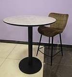 Полубарный стул B-22 капучино велюр Vetro Mebel (бесплатная доставка), фото 10