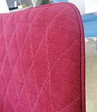 Мягкий стул M-40 бордо на черных ножках Vetro Mebel (бесплатная доставка), фото 4