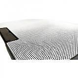 Подставка охлаждающая для ноутбука 2 вентилятора, диагональ 9-17 дюймов чёрный с белым N99, фото 2