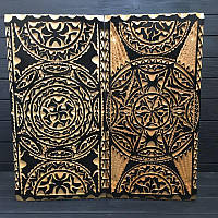 Деревянные нарды черно-белые ручной работы, эксклюзив, фото 1