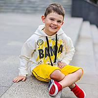 Детская худи и шорты от бренда banda, детский костюм (худи и шорты)