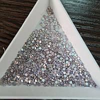 Стразы для ногтей ss3 pink opal, 100шт. (1,3-1,4мм)