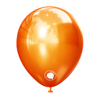 Латексные шары 5'' хром Kalisan Турциямедный (12,5 см), 100 шт