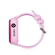 Детские смарт-часы Wonlex GW400X с Gps трекером (Розовый), фото 3