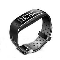 Фитнес-трекер Smart Band Q8 Tonometr Серый КОД: band_g8_grey
