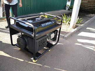 Генератор бензиновый 9,5 кВт Hyndai HY12500LE 5