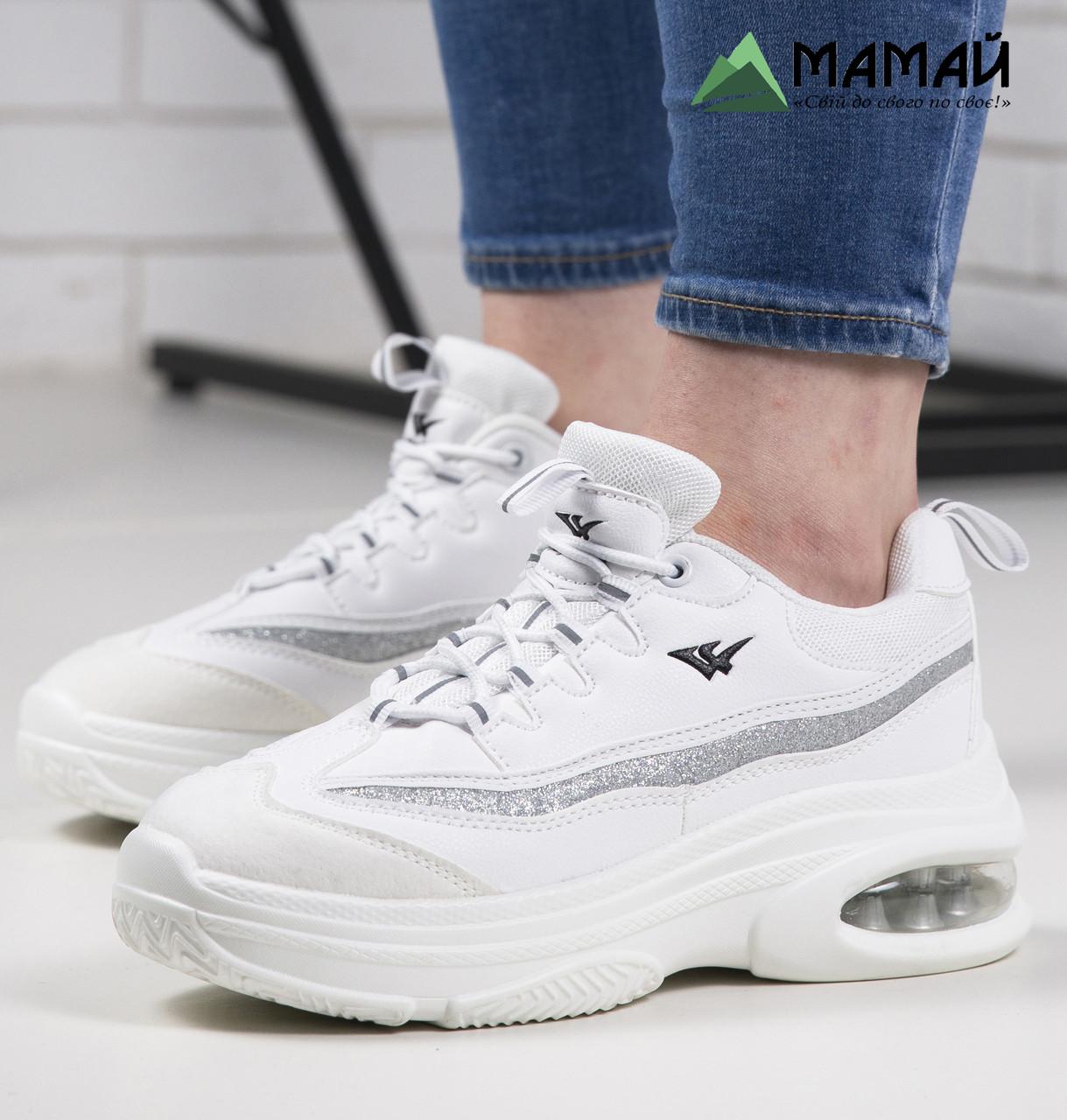 Кросівки жіночі білі 40р