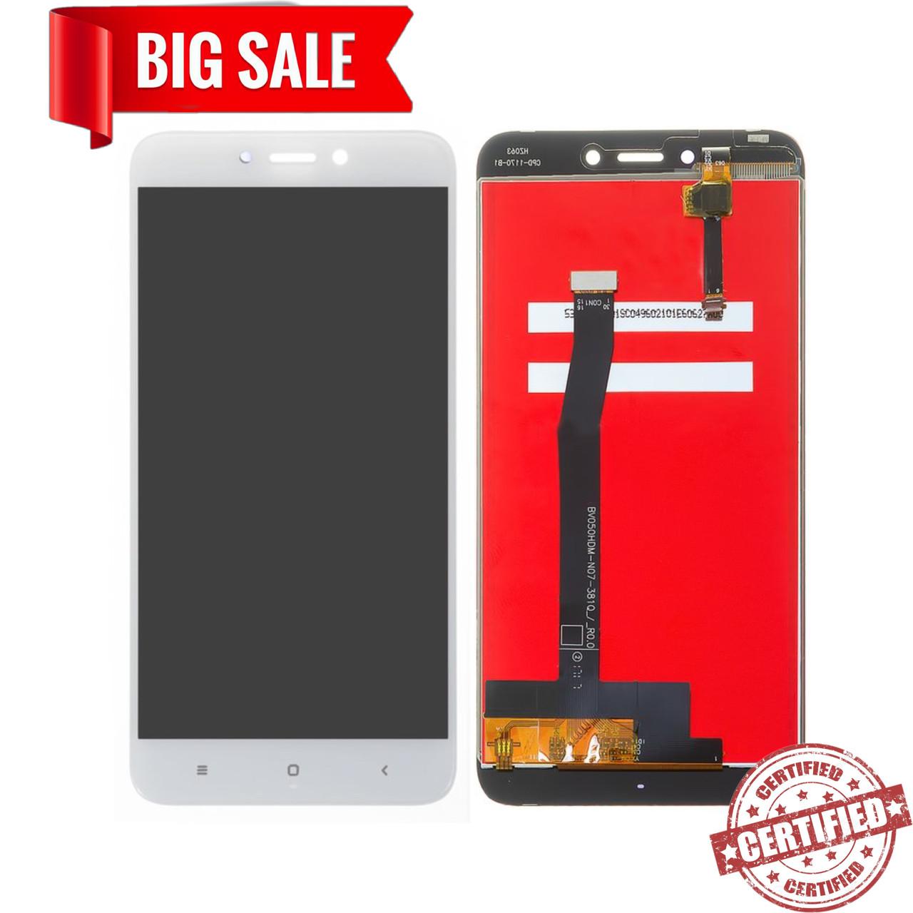 Модуль (дисплей + сенсор) для Xiaomi Redmi 4X білий