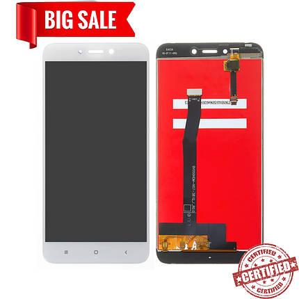 Модуль (дисплей + сенсор) для Xiaomi Redmi 4X білий, фото 2