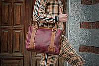 Кожаная мужская сумка для документов, Сумка кожаная для ноутбука