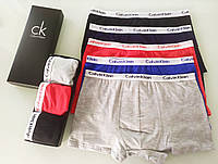 Набор мужских боксеров Calvin Klein 3 шт в коробке кельвин кляйн трусы кельвин кляйн