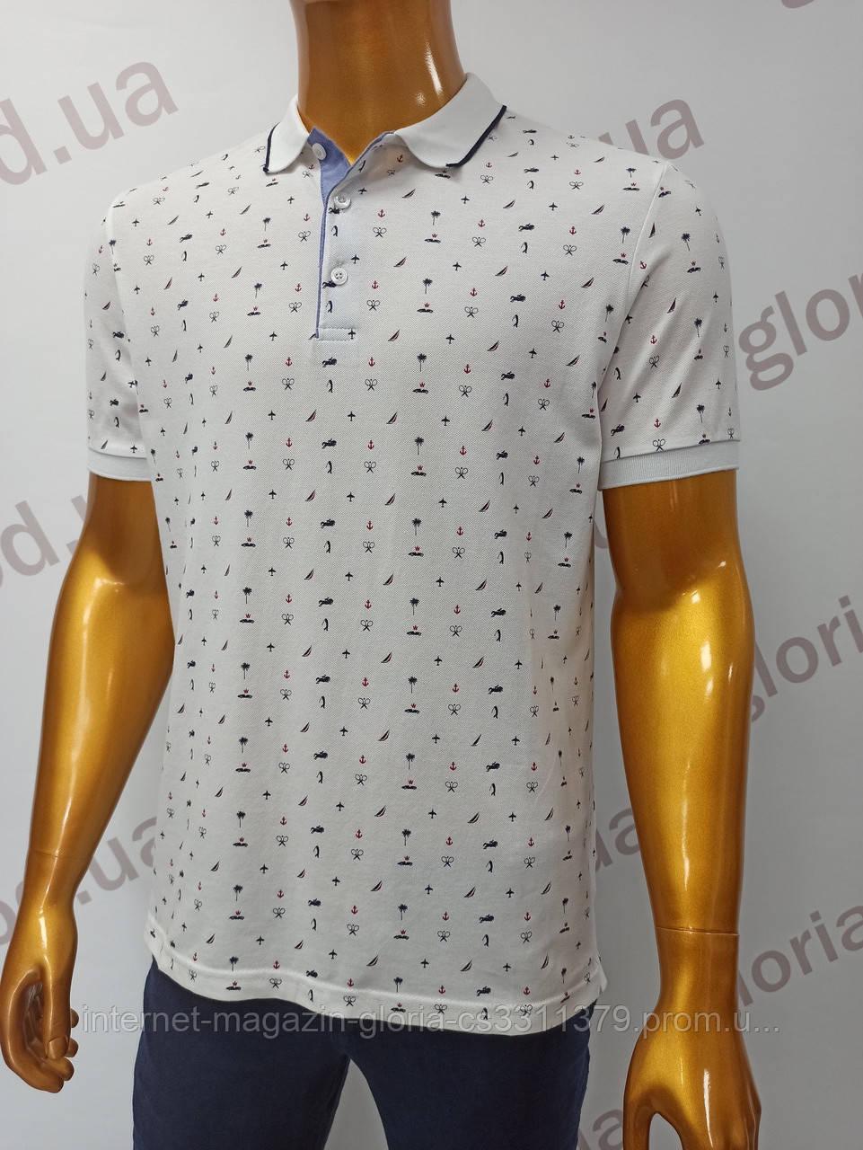 Мужская футболка поло Tony Montana. PSL-2405b (tmp241-8). Размеры: M,L,XL,XXL.