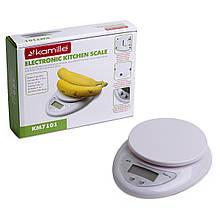 Кухонные весы электронные Kamille на 5кг KM-7101
