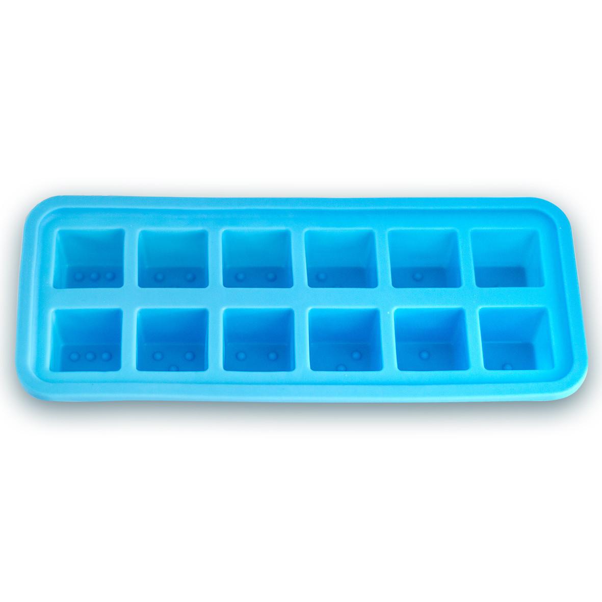 Форма Kamille силиконовая для льда 26*11*3см KM-7741