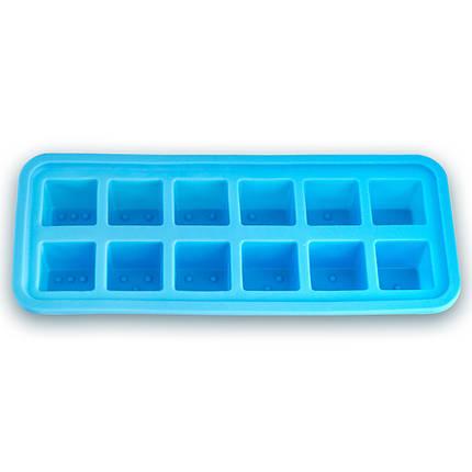 Форма Kamille силиконовая для льда 26*11*3см KM-7741, фото 2