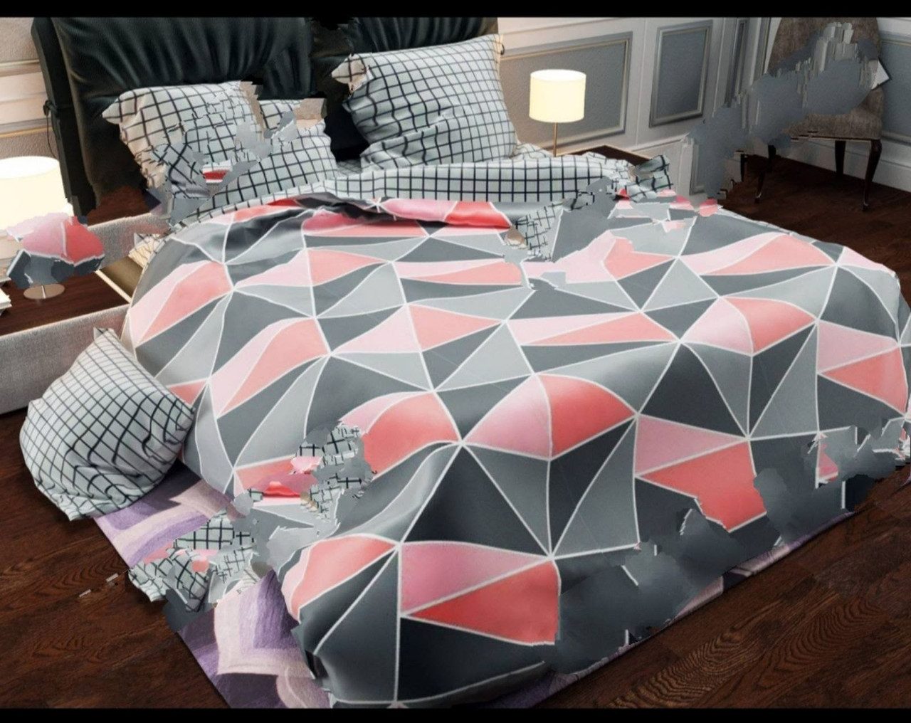 Двухспальный постельный комплект-Елефант