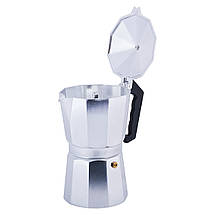 Кофеварка гейзерная Kamille 450мл из алюминия KM-2502, фото 2