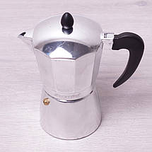 Кофеварка гейзерная Kamille 450мл из алюминия KM-2505, фото 3
