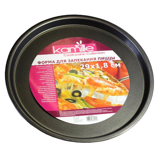 Форма для запекания пиццы Kamille Ø29*2см KM-6016