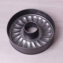 Разъемная форма Kamille 26см со сменным дном из углеродистой стали KM-6022, фото 3