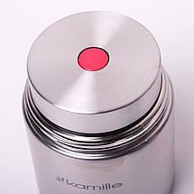Термос пищевой Kamille 500мл из нержавеющей стали KM-2060, фото 3