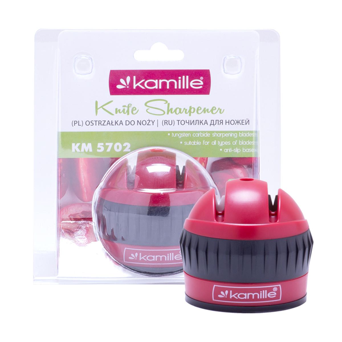Точилка для ножей Kamille 6*6*6.5см с присоской KM-5702