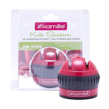 Точилка для ножей Kamille 6*6*6.5см с присоской KM-5702, фото 2