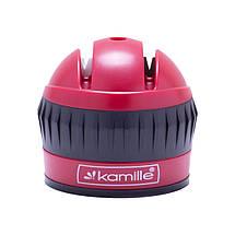 Точилка для ножей Kamille 6*6*6.5см с присоской KM-5702, фото 3