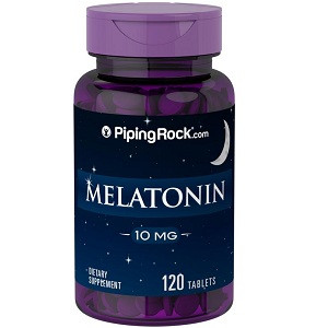 Мелатонин Piping Rock	Melatonin 10 mg (120 таблеток.)