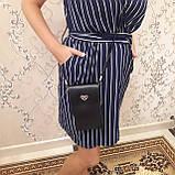 Женская модная сумка черная, фото 3