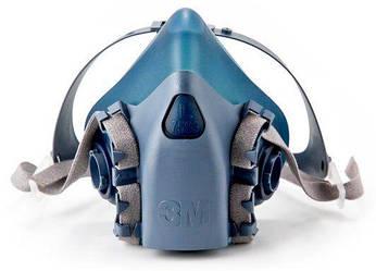 3M™ 7502 Полумаска серии 7500, размер - средний М