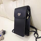 Женская модная сумка черная, фото 7