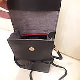 Женская модная сумка черная, фото 8