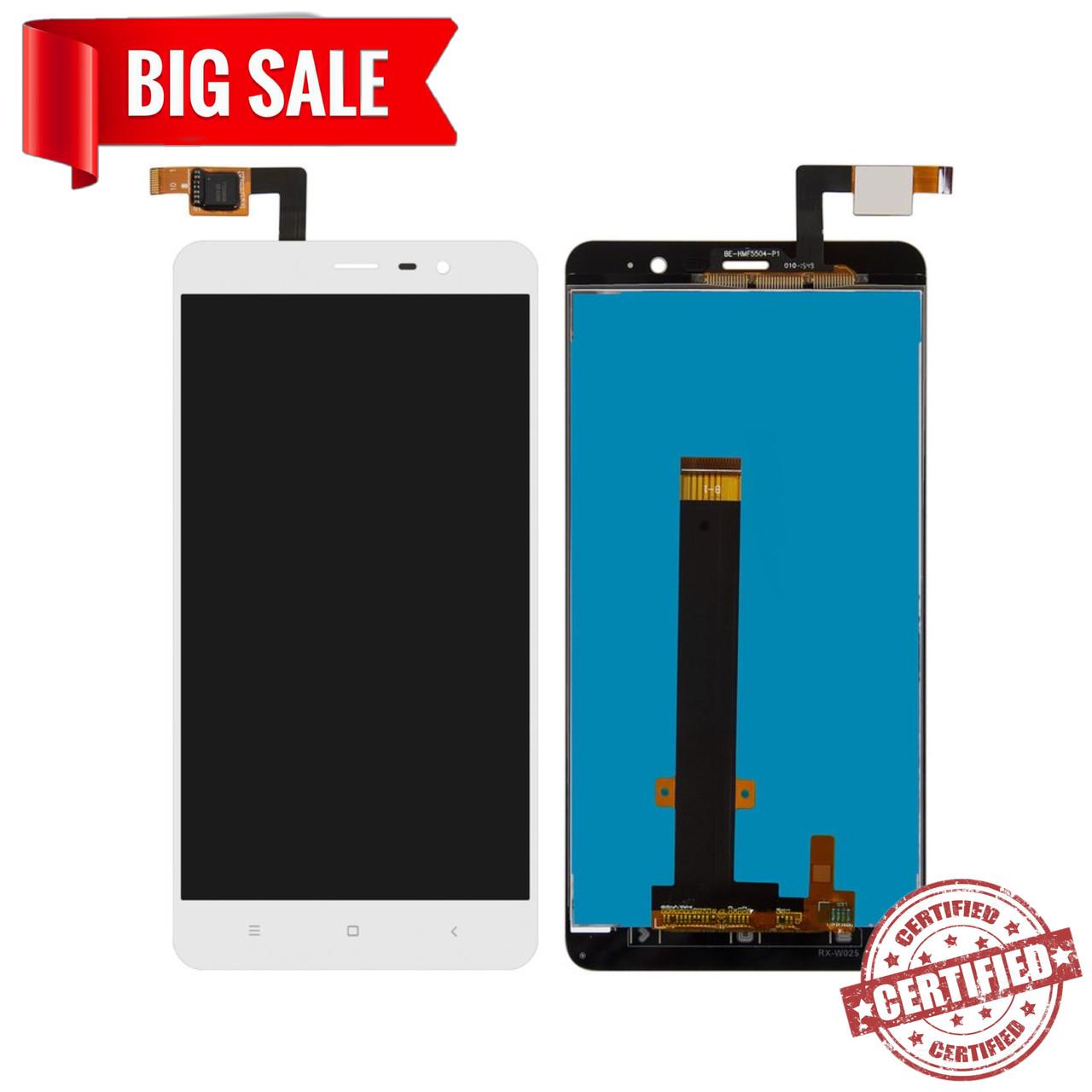 Модуль (сенсор+дисплей) для Xiaomi Redmi Note 3 Pro SE(Special Edition) білий