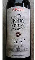 "Вино красное Риоха ""Cepa Lebrel Joven 2012"" 0.75л"
