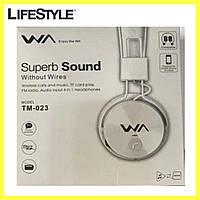 Наушники Bluetooth Super Sound TM - 023 белые