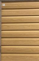 Сайдинг Ю-пласт виниловый Тимберблок кедр янтарный панель 3х0,23. Timberblock серия под дерево Кедр.