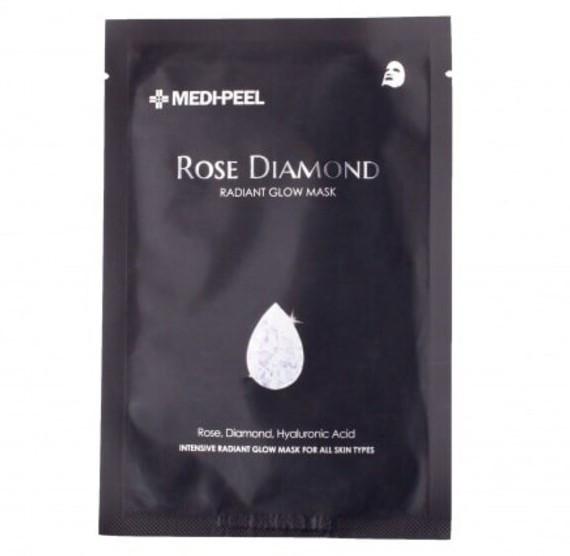 Маска з алмазної пудрою Medi-Peel Diamond Rose Radiant Glow Mask 25 мл