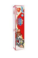 Тайская детская зубная паста Кодомо Клубничка. Kodomo Lion Xylitol Plus Special Toothpaste for Children.